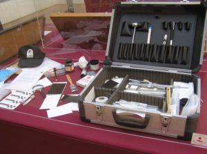 """Exposición """"Iter Criminis"""", SECCIF, 2009."""